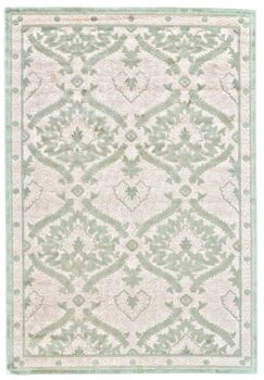 Rousseau Blue/White Area Rug Rug Size: Rectangle 5'3