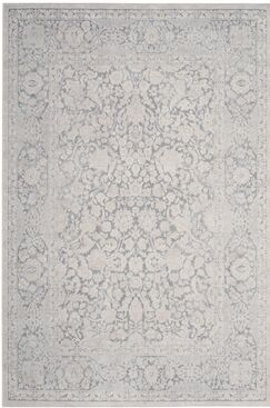 Pellot Light Gray/Cream Area Rug Rug Size: Rectangle 6' x 9'