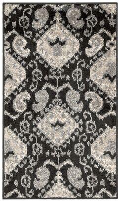 Duarte Black Rug Rug Size: Rectangle 2'3