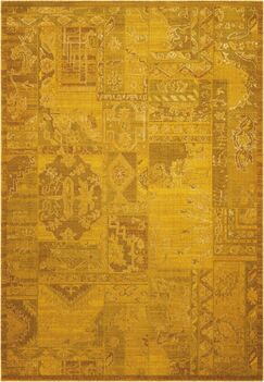 Pine Air Yellow Area Rug Rug Size: Rectangle 7'9