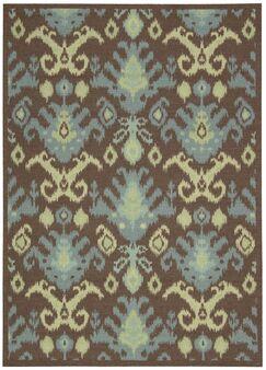 Appian Chocolate Area Rug Rug Size: Rectangle 4' x 6'