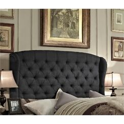 Maryport Upholstered Panel Bed Size: Queen, Color: Charcoal