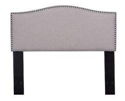 Upholstered Panel Headboard Color: Light Brown