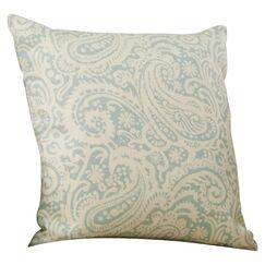 Francisca Linen Throw Pillow Color: Silver, Size: 22