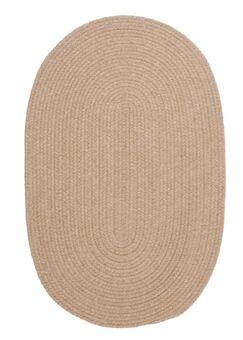 Navarrette Brown Area Rug Rug Size: Oval 4' x 6'