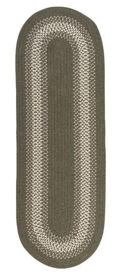 Serafin Olive Area Rug Rug Size: Oval Runner 2' x 8'