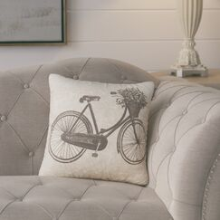 Superior 100% Cotton Throw Pillow Color: Grey