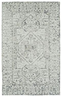 Theroux Ivory Area Rug Rug Size: Rectangle 8' x 10'
