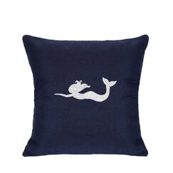 St. Marks Outdoor Throw Pillow Size: 18