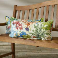 Evadne Indoor/Outdoor Lumbar Pillow Size: 12