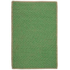 Mammari Hand-Woven Green Indoor/Outdoor Area Rug Rug Size: Rectangle 4' x 6'