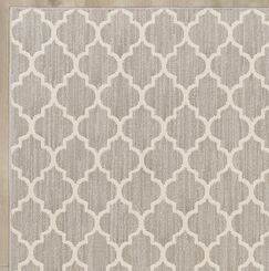 Central Volusia Gray Area Rug Rug Size: Rectangle 4' x 6'