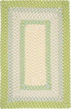 Marathovounos Lime Twist Kids Indoor/Outdoor Area Rug Rug Size: Rectangle 10' x 13'