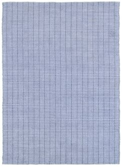Rudel Hand Woven Cotton Grey Area Rug Rug Size: Rectangle 6' x 9'