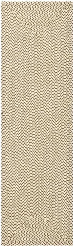 Lissie Hand-Woven Cotton Beige/Brown Area Rug Rug Size: Runner 2'3