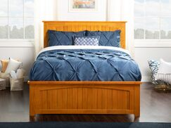 Graham Queen Panel Bed Size: Twin XL, Color: Caramel Latte