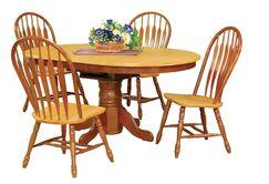 Banksville Dining Table Finish: Nutmeg Light Oak