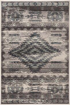 Miche Wabun Black/Beige Area Rug Rug Size: Rectangle 5' x 7'6