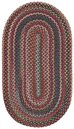 Kenji Red Area Rug Rug Size: Concentric 1'8