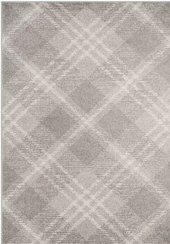 St. Ann Highlands Light Gray/Ivory Area Rug Rug Size: Rectangle 9' x 12'