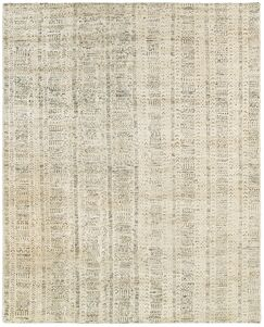 Runge Hand-Knotted Beige Area Rug Rug Size: Rectangle 8' x 10'