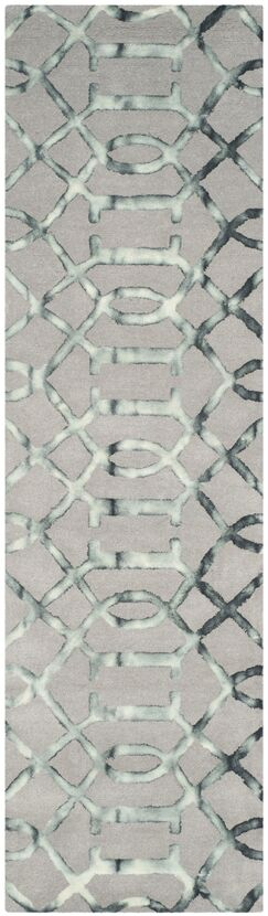 Kinder Hand-Tufted Gray/Charcoal Wool Area Rug Rug Size: Runner 2'3