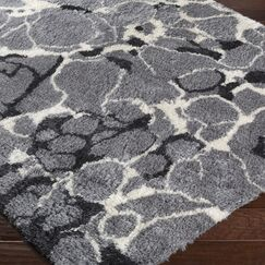 Keith Gray Area Rug Rug Size: Rectangle 2' x 3'