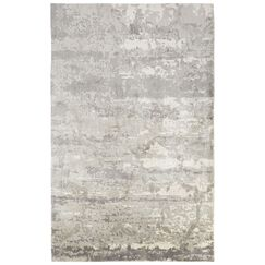 Ali Industrial Gray/Ivory Area Rug Rug Size: Rectangle 7'10