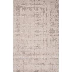 Elyse Hand-Tufted Gray Area Rug Rug Size: 9'6
