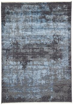 Berenice Blue Nights/Moonlight Blue Area Rug Rug Size: 5'3