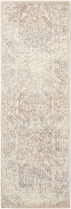 Christena Ivory Area Rug Rug Size: Rectangle 2' x 5'9