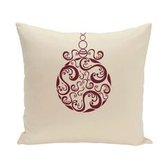 Havelock Decorative Holiday Print Throw Pillow Size: 16