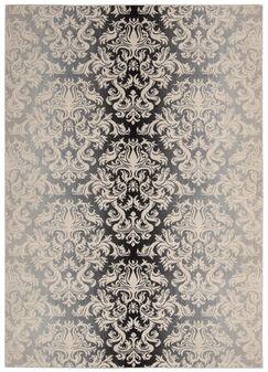 Rutha Charcoal Area Rug Rug Size: Rectangle 3'6
