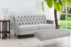 Kaylynn Standard Sofa Upholstery: Opal Grey