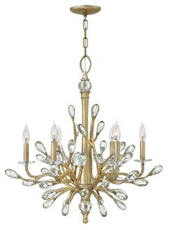 Eve 6 Light Candle Style Chandelier