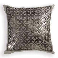 Lubec Leather Throw Pillow