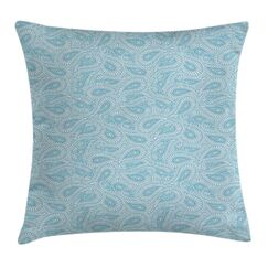 Arabic Ethnic Paisley Pattern Pillow Cover Size: 20