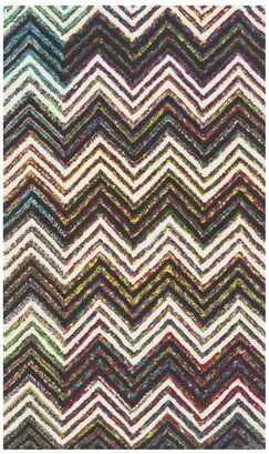 Hand-Tufted Ivory/Black Area Rug Rug Size: Rectangle 3' x 5'