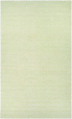 Alonso Hand-Woven Reversible Green Indoor/Outdoor Area Rug Rug Size: Runner 2'3