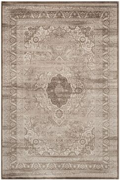 Vishnu Beige/ Light Brown Area Rug Rug Size: Rectangle 9' x 12'