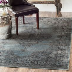 Pittwater Blue Area Rug Rug Size: Rectangle 9'6