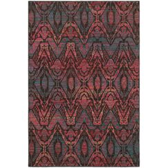 Rockwell Overdyed Brown/Multi Area Rug Rug Size: Rectangle 9'10