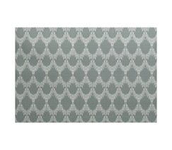 Lassiter Flat Woven Geometric Green Area Rug Rug Size: Rectangle 3' x 5'