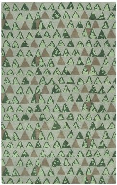 Lisbon Beach Pyramid Area Rug Rug Size: Rectangle 5' x 8'