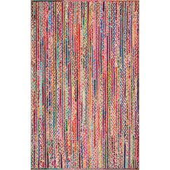 Sumitra Pink/Blue Area Rug Rug Size: Rectangle 3' x 5'