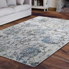 Dovewood Light Gray Area Rug Rug Size: Rectangle 5'3