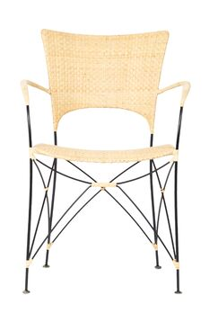 Birdwell Dining Chair Color: Natural