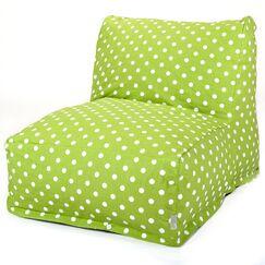 Telly Bean Bag Lounger Upholstery: Lime
