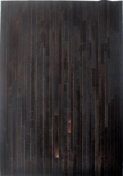 Dark Brown Area Rug Rug Size: Rectangle 5' x 8'