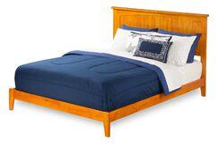 Graham Panel Bed Size: King, Color: Espresso